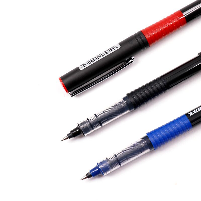 斑马牌(ZEBRA)银蛇直液式签字笔 0.5mm子弹头中性笔  C-JB1 黑色 10支装_http://www.chuangxinoa.com/img/images/C202104/1618909548997.jpg