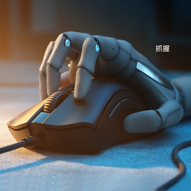 雷蛇 Razer 雷蛇炼狱蝰蛇V2迷你版 鼠标 有线鼠标 游戏鼠标 右手鼠标 RGB 电竞 黑色 8500DPI_http://www.chuangxinoa.com/img/images/C202104/1619146646812.jpg