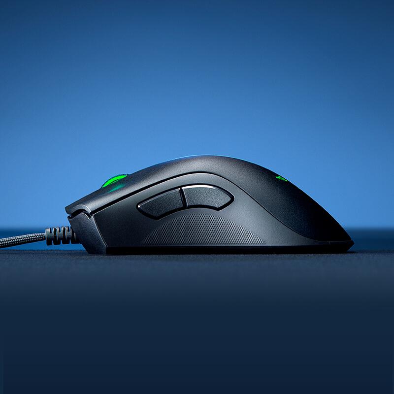 雷蛇 Razer 炼狱蝰蛇V2 鼠标 有线鼠标 游戏鼠标 人体工程学 电竞 黑色 20000DPI lol吃鸡神器cf_http://www.chuangxinoa.com/img/images/C202104/1619157057142.jpg