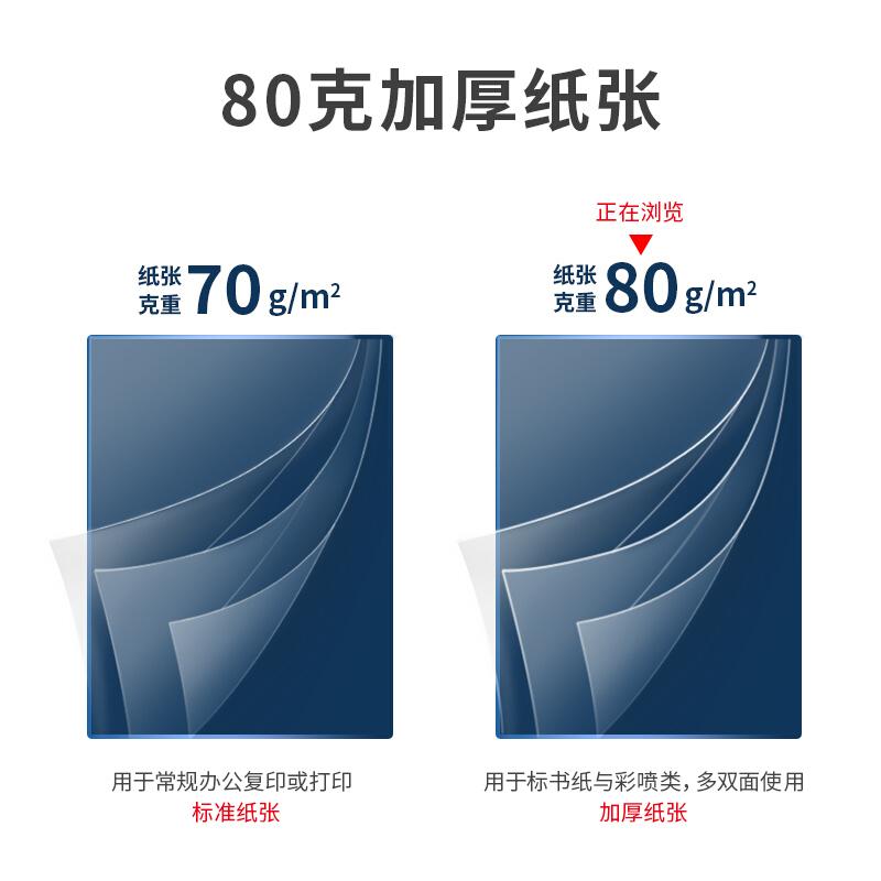 得力(deli)白令海 80g A4 复印纸 打印纸 500张/包 5包1箱(整箱2500张)_http://www.chuangxinoa.com/img/images/C202107/1625216084194.jpg