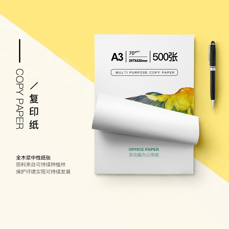 得印(befon) 70g A3复印纸 打印纸 多功能办公用纸 500张/包 4包1箱共2000张 70克A3复印纸打印纸_http://www.chuangxinoa.com/img/images/C202107/1625391387114.jpg